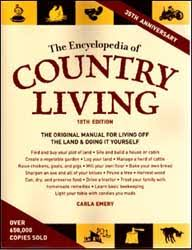 when tom and i started out with our own homestead we had a 1977 edition of carla emery s book i found myself referring to it often