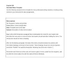 Memo Example For Business Deal Memo Template Professional Best Of Gallery Format