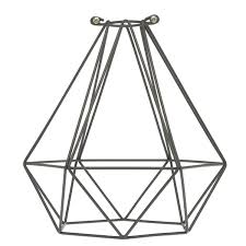 Geometric light bulb cage color cord pany