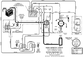 briggs and stratton riding lawn mower wiring diagram briggs lawn mower wiring harness lawn wiring diagrams