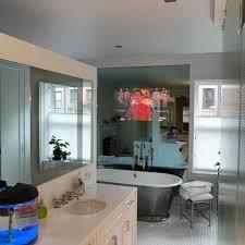 Kitchen Television Hidden Television Mirror Tv Integrated With Crestron Av3