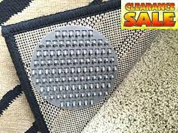 carpet anchor rug on anti slip pads pack o anchors spiked will limit the movement of