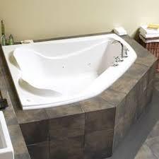 maax co ft whirlpool tub in white corner tub