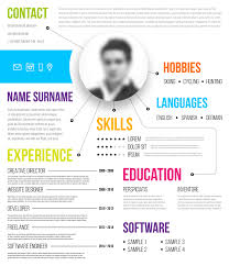 Infographic Resume Templates Delectable Infographic Resume Templates 48 Template Mhidglobalorg