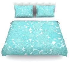 turquoise duvet cover sets julia grifol turquoise birds aqua blue duvet cover cotton twin contemporary