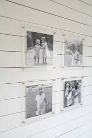 Floating acrylic wall frame Double Panel Black And White Family Photos In Acrylic Frames Gathalcocom Amazing Acrylic Frames 10 Examples That Will Convince You To Float