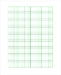 Free Graph Paper Template 8 Documents Download With Regard A4 Grid