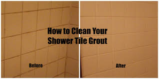 Budget Spring Cleaning Diy How To Clean Your Shower Tile Grout