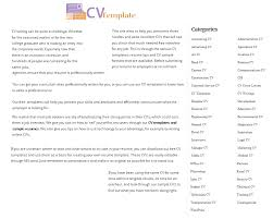 Cv Temp Cv Template Guide To Writing A Cv With Lots Of Sample Temp Flickr