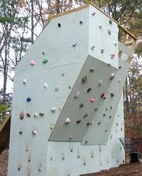 backyard climbing wall the final