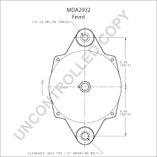mda product details leece neville mda2932 front dim drawing