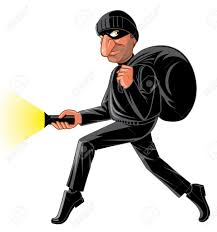 Image result for cartoon images of a thief