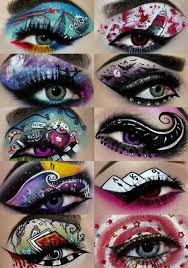 creative eye makeup possibilities for personality infused mixed a project
