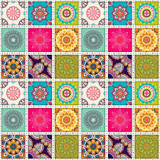Moroccan Tile Pattern Amazing Moroccan Tile Pattern With Mandalas Vector Free Download