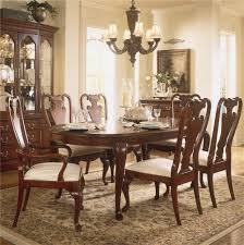 american drew cherry grove 45th oval leg table dining set item number 790