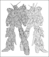 gundam guy softbank creative mobile suit archive rx 0 unicorn gundam book preview images release info