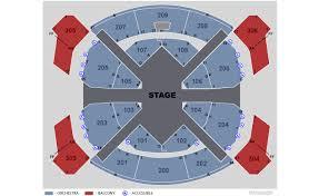 Actual Mirage Cirque Seating Chart Encore Theater Las Vegas