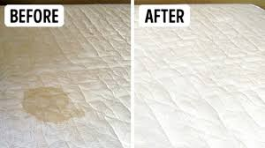 stained mattress. How To Clean Pee \u0026 Stains Off A Mattress With Baking Soda Vinegar Properly Stained L