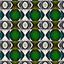 Non Figuratief Reliãf Grillige Patroon Grillig Motief Met Groene