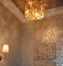 stenciled finish by bella tucker decorative finish