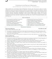 Project Manager Resume Examples Examples Of Project Management