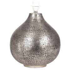 silver table lamp base awesome hammered metal table lamp designs regarding hammered metal table lamp bedroom