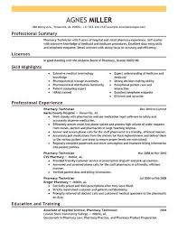 Sample Pharmacy Technician Letter | Ophion.co