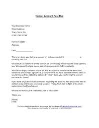 Past Due Invoice Letter Template Amazing Past Due Letter Engneeuforicco