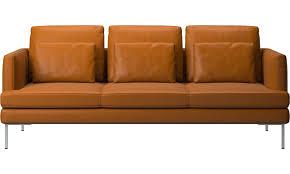 Couchgarnitur Leder Braun