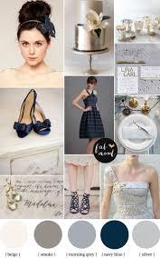 Navy blue and silver wedding colour schemes | Metallic wedding ...