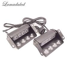 Strobe Lights For Cars Magnificent Aliexpress Buy Lamadaled 60V RED BLUE WHITE AMBER 60x60 Led