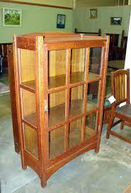 vintage l j g stickley china cabinet