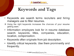 Keywords ...
