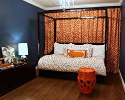 Gorgeous Images Of Cool Spare Room Design And Decoration Ideas :  Interactive Picture Blue Orange Cool