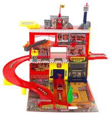Купить <b>Realtoy Пожарная станция</b> 28552 красный/желтый по ...