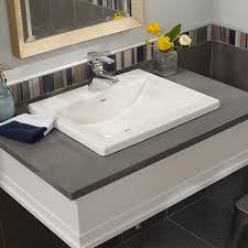 homely ideas overmount bathroom sink studio drop in american standard sinks vs undermount over mount granite kohler