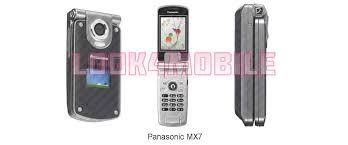 Panasonic MX7 - features, technical ...