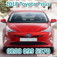 CHEAPEST PCO CAR HIRE / UBER RENT / BRAND NEW TOYOTA PRIUS 2018 ...