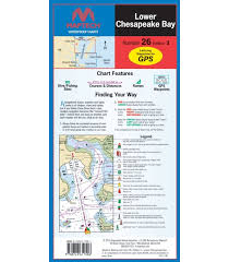 Noaa Chart Numbers Maptech Lower Chesapeake Bay Waterproof Chart 3rd Edition 2016