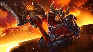dota 2 heroes the defiant axe set harbinger of war loading screen