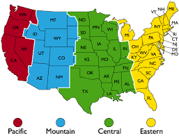 Graphic Maps Usa Images Time Zone Map