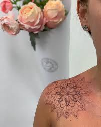 At Tattoomija Tattoo Mija Mandala Hnědou Mandala By
