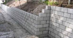 construction of concrete block