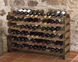 wine rack. Modular Australian Pine Wine Racks Rack E