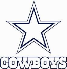 Dallas Cowboys Coloring Page Coloring Pages Dallas Cowboys Logo