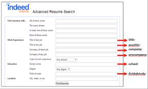 Posting Resume On Indeed Suiteblounge Com