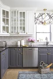 caulking kitchen backsplash. Exellent Caulking Creative Zigzag Glass Subway Tile Backsplash Ideas For Contemporary Kitchen  Design IDeas With Grey Cabinet Throughout Caulking R