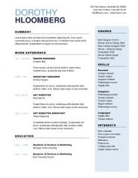 Fine Points Resume Template