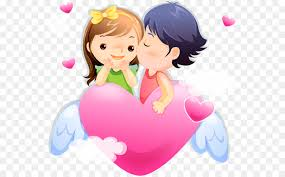 Love Cartoon Couple Drawing Clip Art Love Couple Png Download