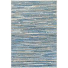 couristan monaco alassio sand azure turquoise 4 ft x 5 ft indoor outdoor area rug